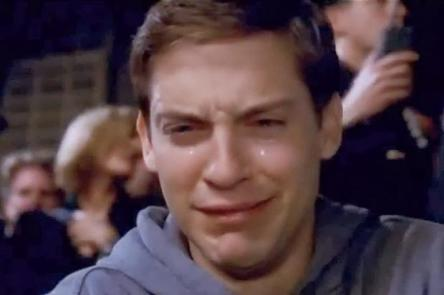 tobey cry